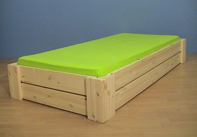 1-p.bed HARRY 2 lats 80x180 t/m 100x220