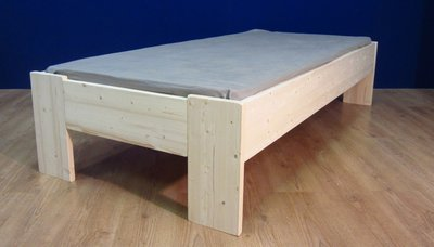 1-persoonsbed Harm A+A (2,8cm dik hout)