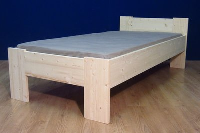 1-persoonsbed Harm D+A (houtdikte 2,8cm)