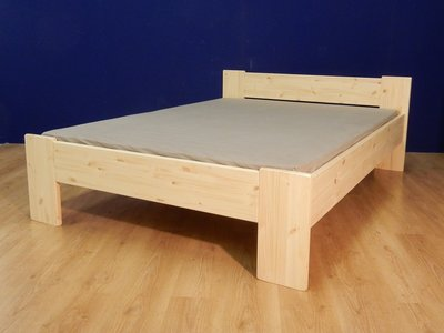 2-persoonsbed Harm C+A (2,8cm dik hout)