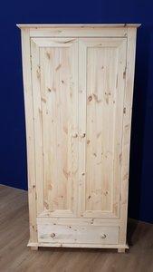 2-deurskast NIELS met lade 100 of 120cm breed