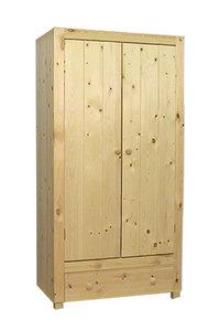 2-deurskast AMELAND met lade 100 of 118cm breed
