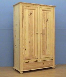 2-deurskast NORMA met lade 100 of 120cm breed